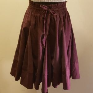 Elevenses by Anthropologie  pleated skirt size S